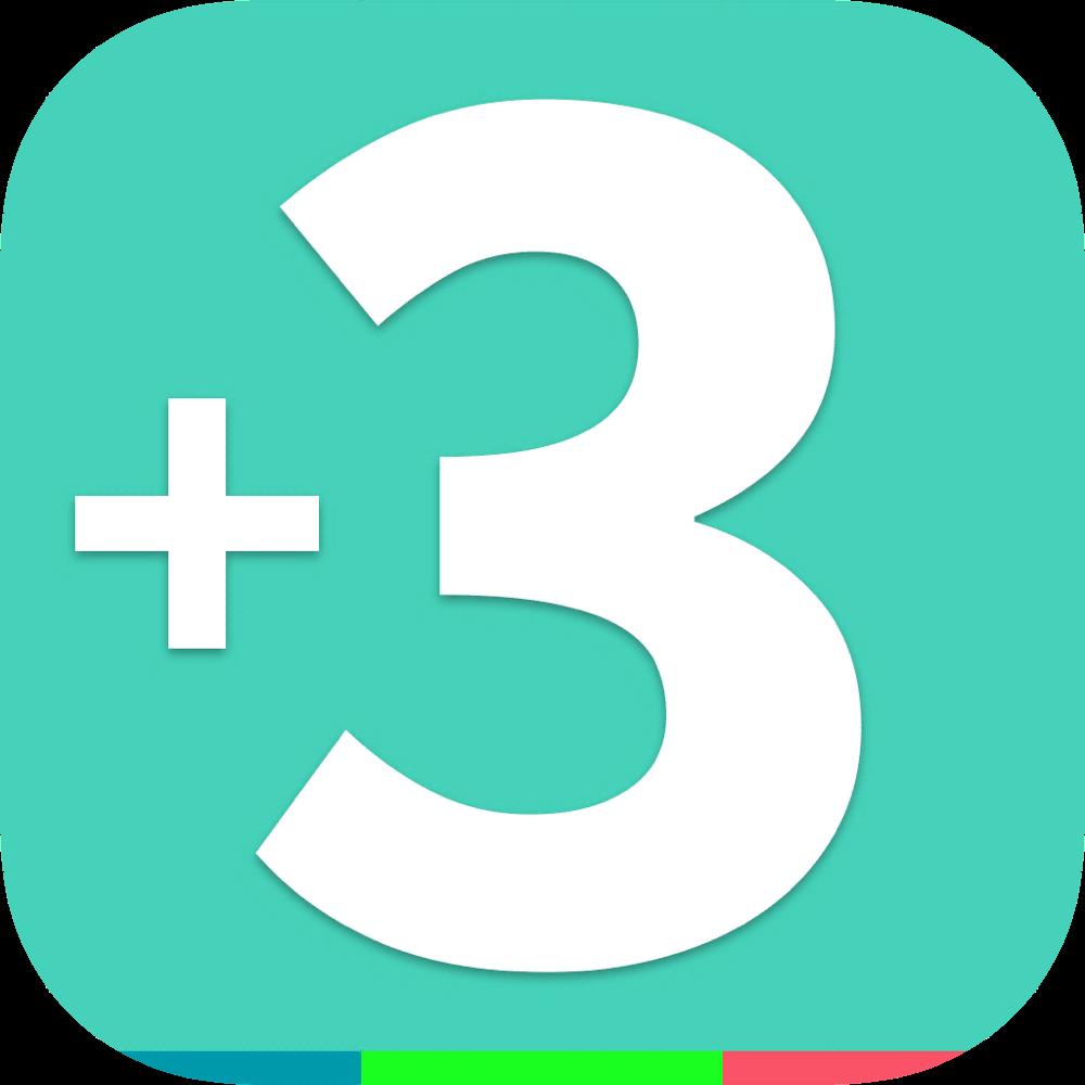 Add Three! Icon